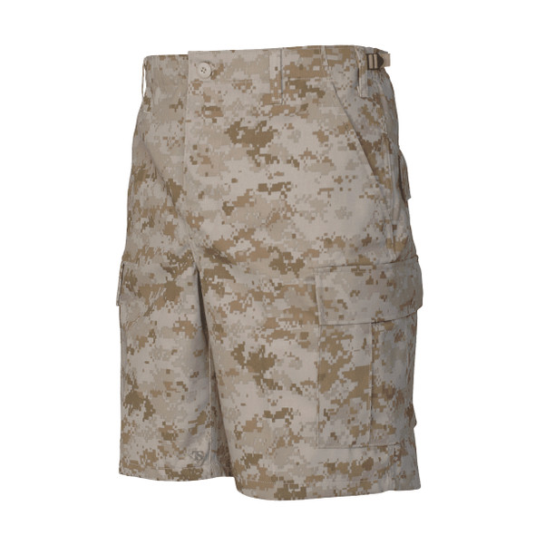 Tru-Spec 4276 BDU 65/35 Polyester Cotton Twill Shorts Desert Digital