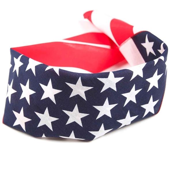 American Flag Bandana 12/Pack