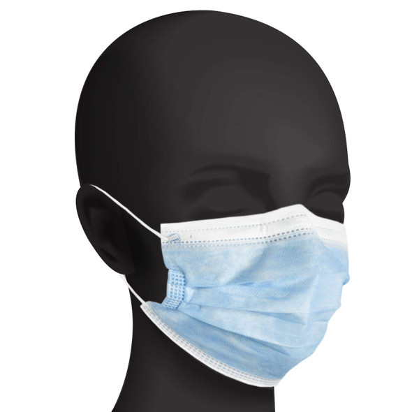 Level 1 Medical Grade Disposable 3-Ply Face Masks 50 Pack
