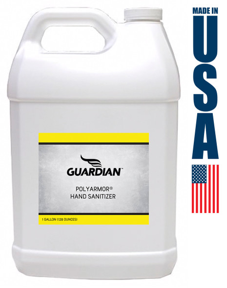Guardian 80% Alcohol Liquid Hand Sanitizer & Surface Cleaner 1 Gallon FREE SHIPPING