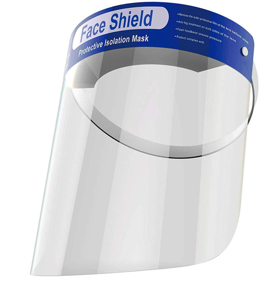 Face Shield Anti-Fog, Dustproof Protective Visors