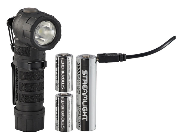 Streamlight PolyTac 90x USB Rechargeable Right Angle Multifuel Flashlight