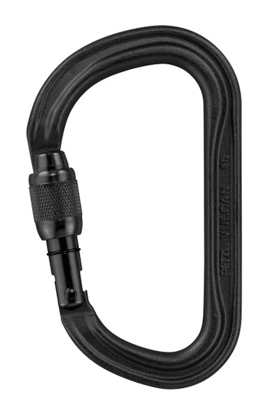 Petzl M73 SLN VULCAN Screw Lock High-Strength Asymmetrical Carabiner with Large Capacity