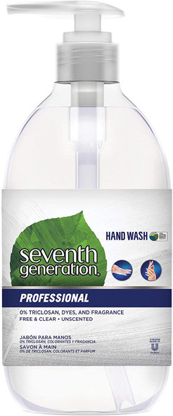 Seventh Generation Professional Plant-Based Unscented Hand Wash 8 pack