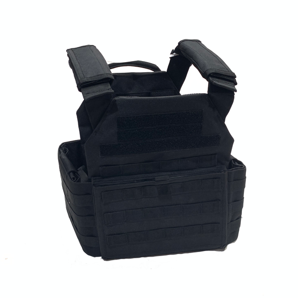 Battle Steel Plate Carrier w/Removable Cummerbund for 10x12 Plates