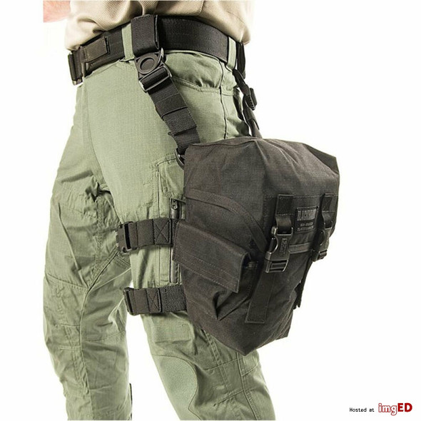 Blackhawk 56GM00BK Gas Mask Pouch Black