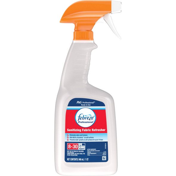 Febreze Sanitizing Fabric Refresh 32oz Kills 99.9% Bacteria On Soft Surfaces