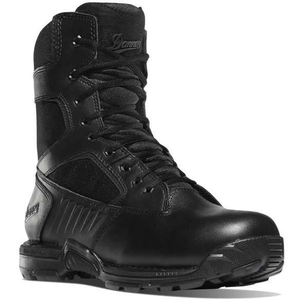 "Danner 26634 Men's Striker Bolt Side-Zip 8"" Black Boots"
