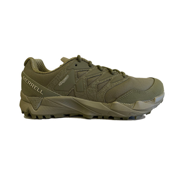 Merrell J099581 Agility Peak Tactical Dark Olive Shoes