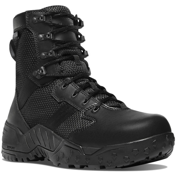 "Danner 25733 Men's Scorch Side-Zip Black Danner Dry 8"" Boots"
