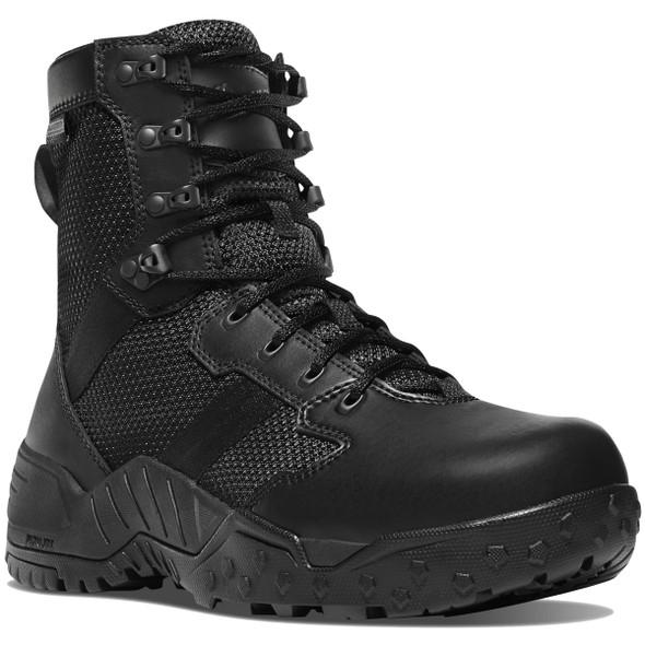 "Danner 25733 Scorch Side-Zip Black Danner Dry 8"" Boots"