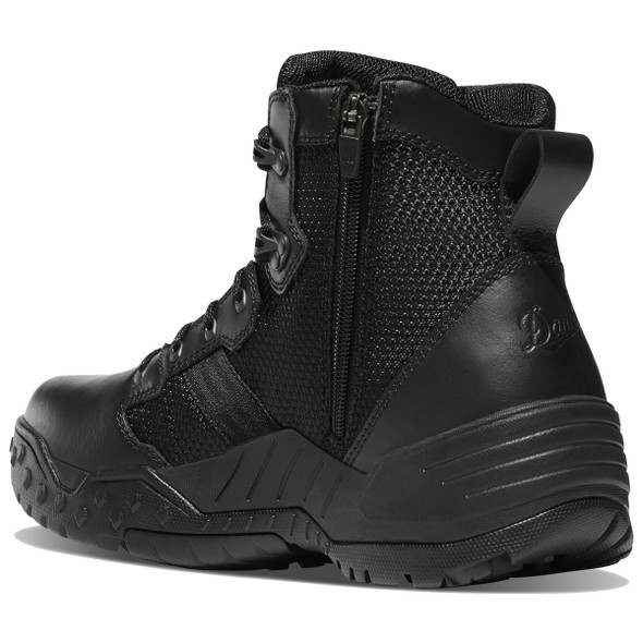 "Danner 25731 Men's Scorch Side-Zip Black Danner Dry 6"" Boots"