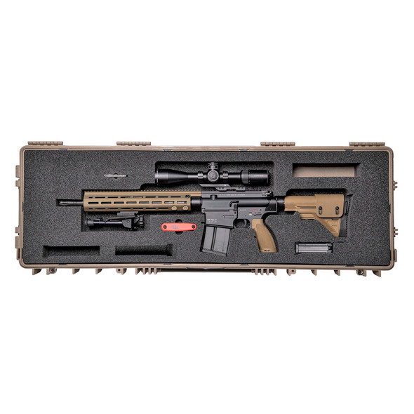 HECKLER & KOCH MR762A1 7.62 NATO LONG RANGE PACKAGE III w/ Custom Hard Case