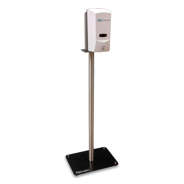BK Resources Elite Automatic Hand Sanitizer Dispenser W/ Heavy Duty Stand.