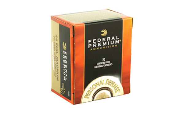 Federal Hydra-Shok 44MAG 240GR HP Ammunition 20 Rounds