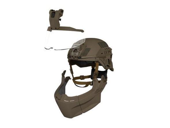 Avon Ceradyne F70 Mid-Cut Boltless Level IIIA Ballistic Helmets
