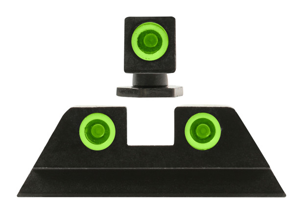 Mepro TRU-DOT Low-Profile Night Sights Glock 45ACP / 10mm