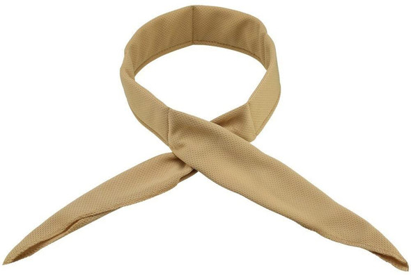 HyperKewl Evaporative Cooling Neck Bands Khaki