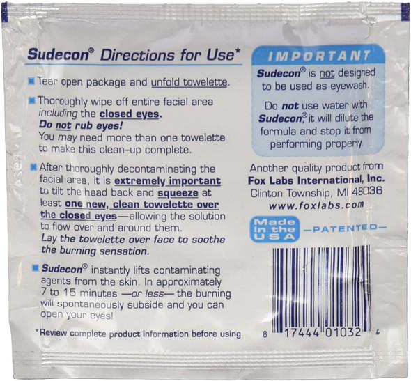 Sudecon Decontamination Wipes 100 Pack