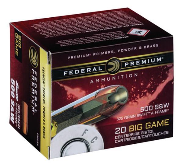 Federal Premium 500 S&W MAG 325GR SWFR Ammunition 20 Rounds
