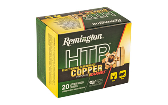 Remington HTP Copper 454 Casull 250GR Barnes XPB Ammunition 20 Rounds