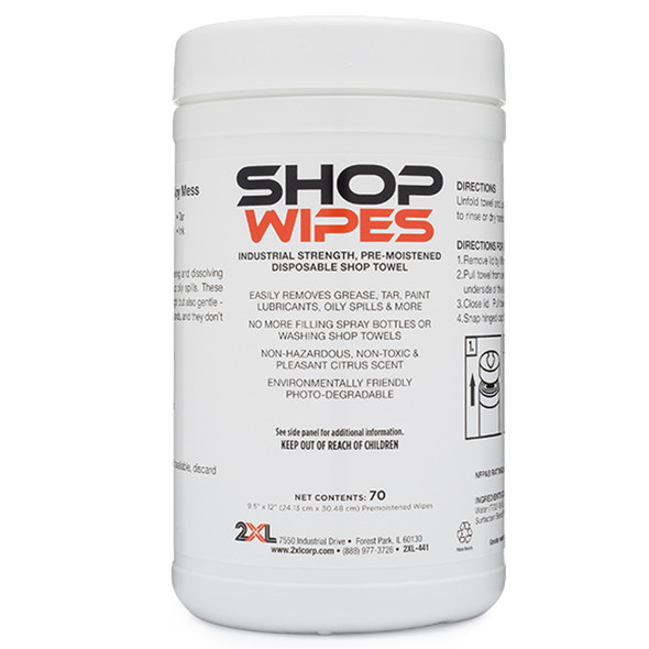 2XL High Performance Shop Wipes 70/Count