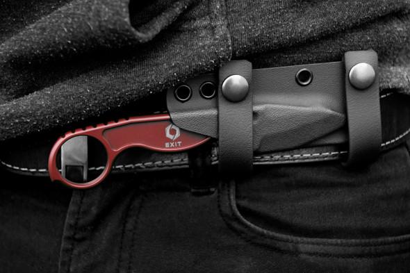 Flagrant Beard HAVOC Fixed Knife Metal Trainer