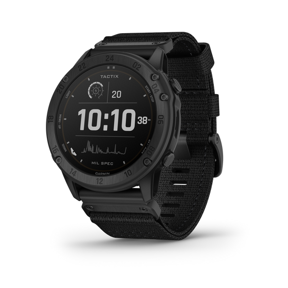 Garmin Tactix Delta Solar Edition & Applied Ballistics GPS Smartwatch