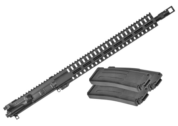 "CMMG 5.7X28MM Resolute 300 Upper , 16"" Barrel, W/ 3 40Rd Magazines"