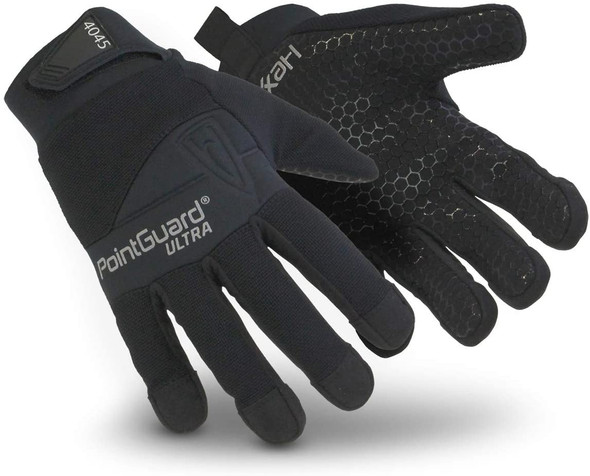 HexArmor 4045 Police Search Gloves w/Needle and Puncture Resistance