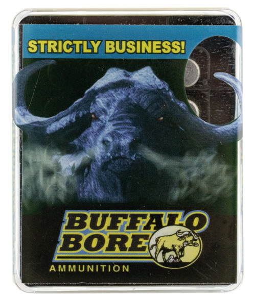 Buffalo Bore Heavy 44 Rem Mag +P 340GR LFN Ammunition 20 Rounds