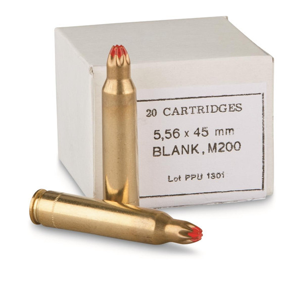PPU 5.56mm M200 Blank Ammunition 20rds