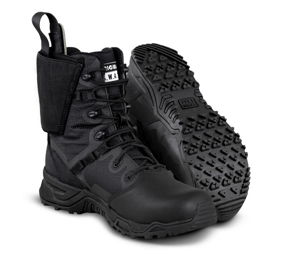 Original SWAT 177901 Alpha Defender Polishable Toe Black Boots