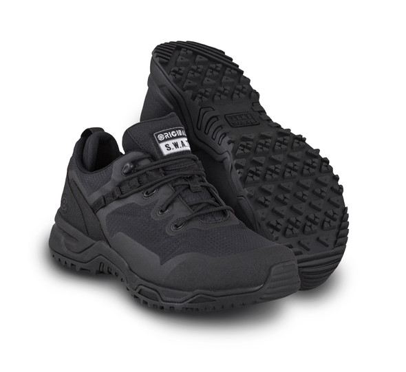 "Original SWAT 175001 Alpha Fury Low Cut 3"" Black Athletic Shoes"