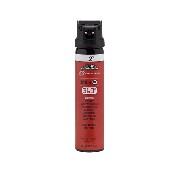 Defense Technology First Defense 360 0.2% MK-4 Stream OC Aerosol