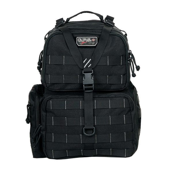 G Outdoors Tactical Range Backpack BLACK