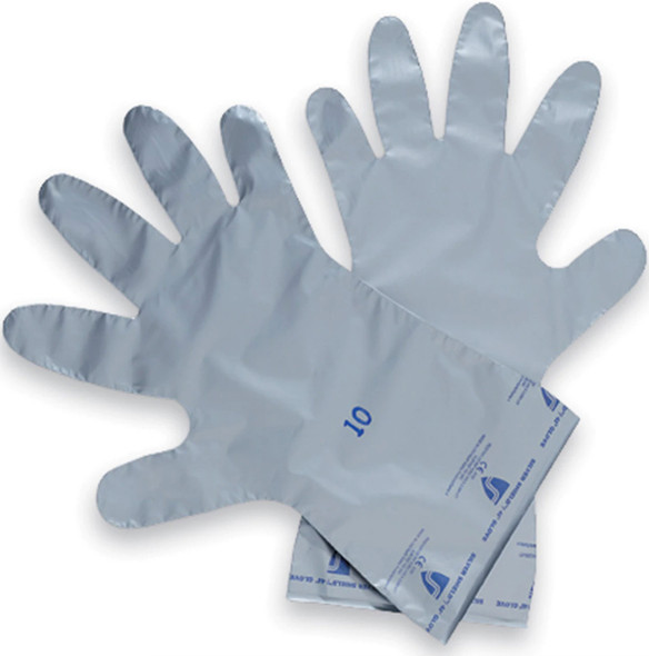 North Safety Silver Shield Gloves, Size SSG / 8, 10 Per Pack