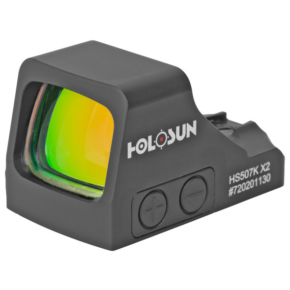 Holosun HS507K-X2 Multi-Reticle 2 MOA Reflex Sight