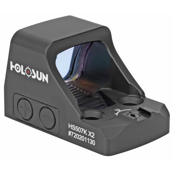 Holosun HS507K-X2 Multi-Reticle 2 MOA Reflex Sight