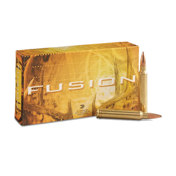 Federal Fusion 300 Win Mag 150GR FSP Ammunition 20 Rounds