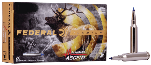 Federal Premium 270 WSM 136GR Terminal Ascent Ammunition 20 Rounds