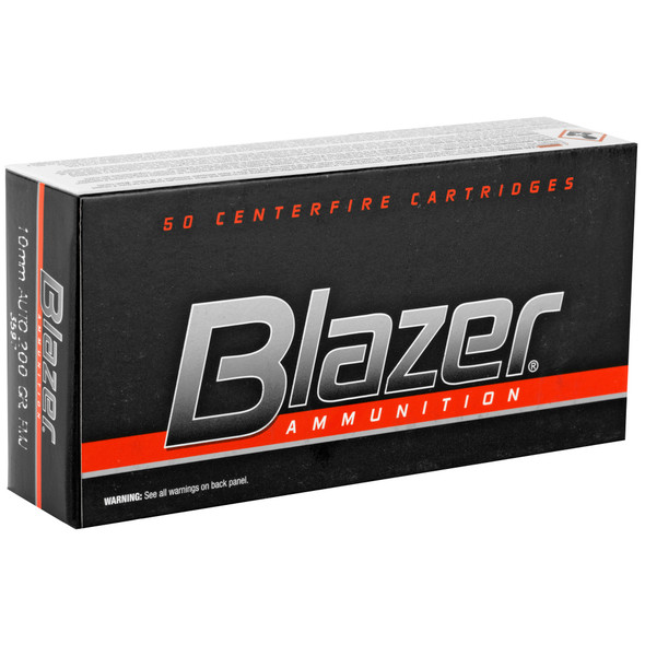 CCI Blazer 10mm Auto 200GR TMJ Ammunition 50 Rounds