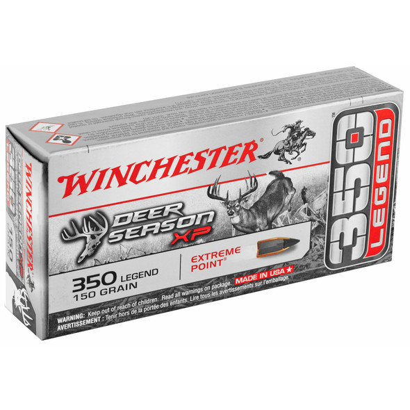 Winchester Deer Season XP 350 Legend 150GR Extreme Point Ammunition 20 Rounds