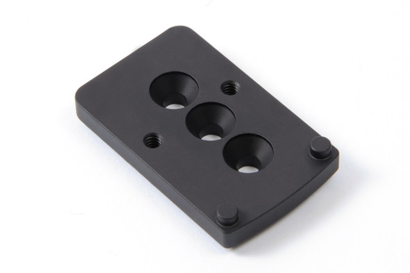 Unity Tactical FAST LPVO Mount Offset Optic Adapter Plate - RMR/SRO