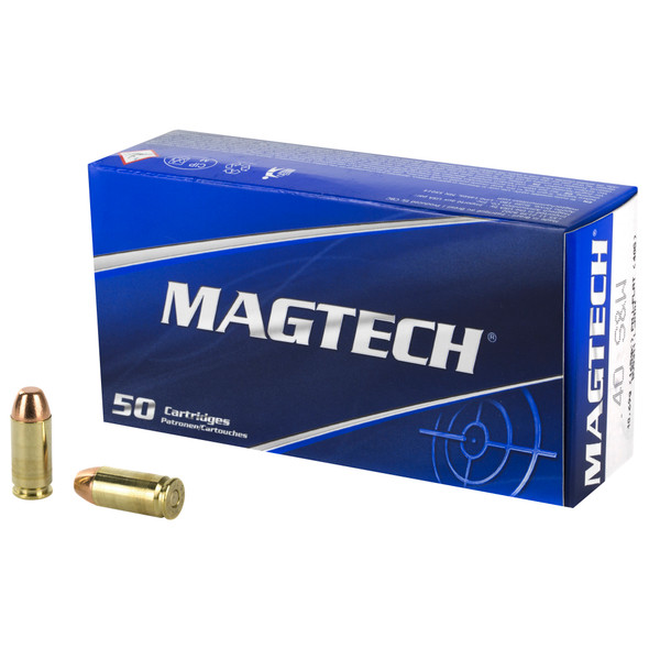 Magtech Sport Shooting 40 S&W 165GR FMJ Ammunition 50 Rounds