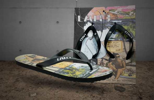 Lalo China Beach Pro Model Flip Flop