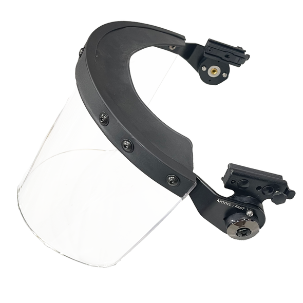 Battle Steel Riot Face Shields w/Rail Mount