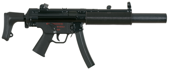HK MP5SD Series 9mm Suppressed Sub-Machine Guns