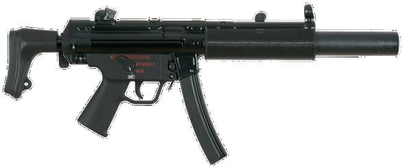 HK MP5SD Series 9mm Suppressed Sub-Machine Guns