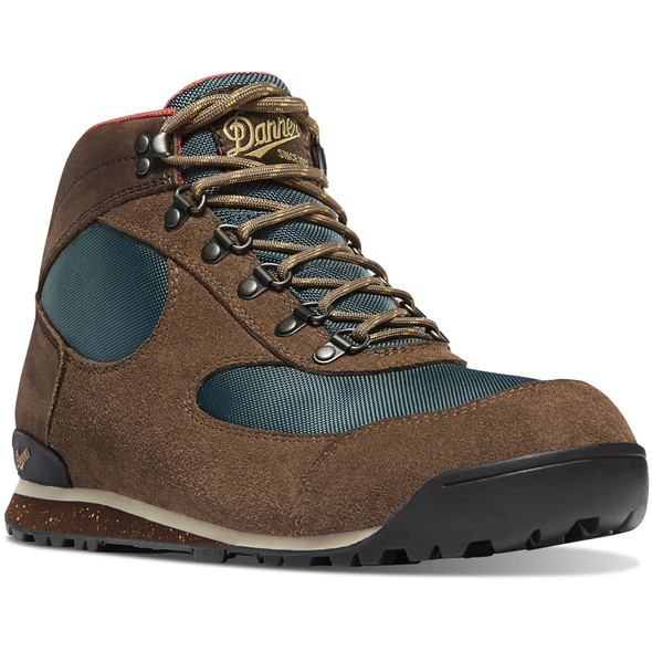 "Danner 37240 Brown/Goblin Blue 4.5"" Jag Dry Weather Boots"
